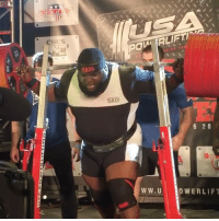 1052lb SQUAT BY BIG RAY WILLIAMS!! Repost @mattwallace148 !! raywilliams asf2017 usapl ipf: SBD  POM ALIFTI  5 2 0  W W. U  OWERLIFT 1052lb SQUAT BY BIG RAY WILLIAMS!! Repost @mattwallace148 !! raywilliams asf2017 usapl ipf