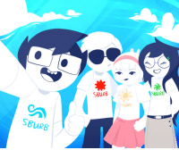 Target, Tumblr, and Blog: SBURB  SBURB  SBURB crystalrina:  Trying to draw in MSPA style! It turned out pretty well and it looks fabulous in my opinionIt'll also be used in something else ;)