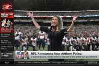 "😂😂😂 (GhettoGronk): SC  BREAKING .  NEWS  WNBA Moved To  Food Network  eGhettoGronk  KD Joining  Rockets?  No Hope  Without CP3  0  James Har en  (No D)  NFL Anthem  NFL Announces New Anthem Policy:  If anyone kneels, Fergie will sing the rest of the anthem as punishment  Change  NBA  Michael Jordan on LeBron's greatness: ""That nigga 10x better than me."" 😂😂😂 (GhettoGronk)"