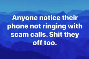 Scam callers are also laid off: Scam callers are also laid off