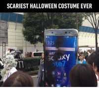 9gag, Dank, and Halloween: SCARIEST HALLOWEEN COSTUME EVER  13:25  MSI  XY Treat or boom boom boom! 💣 http://9gag.com/gag/aLMBwBM?ref=fbpic
