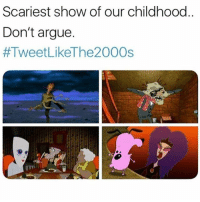 Arguing, Facts, and Memes: Scariest show of our childhood  Don't argue.  Facts