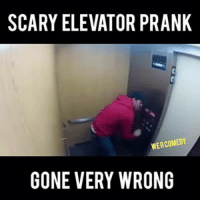 scary: SCARY ELEVATOR PRANK  WERCOMEDY  GONE VERY WRONG