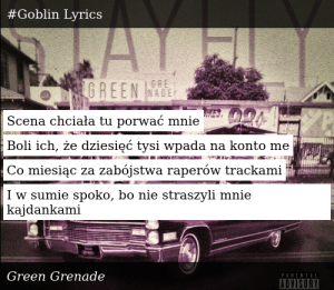 Green Grenade-Stay Fly-#Goblin