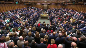 Scenes from Parliament as Boris Johnson's government is defeated by no-deal opponents: Scenes from Parliament as Boris Johnson's government is defeated by no-deal opponents