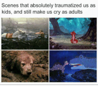Memes, Kids, and 🤖: Scenes that absolutely traumatized us as  kids, and still make us cry as adults  THROWE