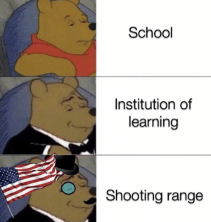 All the other kids with the-: School  Institution of  learning  Shooting range All the other kids with the-