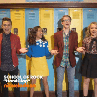 "Check out this sneakpeek of SchoolOfRock's new musicvideo, ""HandClap""! 👏 musicmonday: SCHOOL OF ROCK  ""HandClap""  nieelode  on Check out this sneakpeek of SchoolOfRock's new musicvideo, ""HandClap""! 👏 musicmonday"