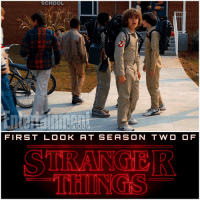 Here's The First Official Image from StrangerThings Season 2 Via EntertainmentWeekly ! 😱 The First Trailer for Season 2 will Air on Sunday during The SuperBowl, so be on the look out ! I'm so HYPED, Stranger Things is easily my favorite Netflix Show and I can't wait for it to Return this Summer ! Also look at Them in their little GhostBusters Costumes ! It Looks like Season 2 will take place during October - November of 1985 since their dressed in their GhostBuster Halloween Costumes ! 👻 StrangerThingsSeason2 💥 STS2: SCHOOL  WEEKLY  FIRST LOOK AT SE AS ON TWO O F  STRANGER Here's The First Official Image from StrangerThings Season 2 Via EntertainmentWeekly ! 😱 The First Trailer for Season 2 will Air on Sunday during The SuperBowl, so be on the look out ! I'm so HYPED, Stranger Things is easily my favorite Netflix Show and I can't wait for it to Return this Summer ! Also look at Them in their little GhostBusters Costumes ! It Looks like Season 2 will take place during October - November of 1985 since their dressed in their GhostBuster Halloween Costumes ! 👻 StrangerThingsSeason2 💥 STS2