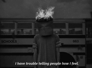 How I Feel: SCHOOLS  663  I have trouble telling people how I feel.