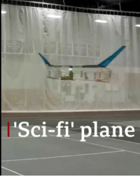 To boldly go, how no plane has gone before! A team of scientists has created the first ever plane to take flight - without any moving parts. Inspired by Star Trek, it uses electroaerodynamic propulsion, meaning it's quieter and better for the environment than traditional aircraft. science technology startrek physics drone aviation bbcnews @startrek: Sci-fi' plane To boldly go, how no plane has gone before! A team of scientists has created the first ever plane to take flight - without any moving parts. Inspired by Star Trek, it uses electroaerodynamic propulsion, meaning it's quieter and better for the environment than traditional aircraft. science technology startrek physics drone aviation bbcnews @startrek
