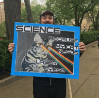 Did you #MarchForScience today? Where at? 😀: SCIENCE  BECCUSE  MGR CET  NEEL  S  LASER  ETESH Did you #MarchForScience today? Where at? 😀
