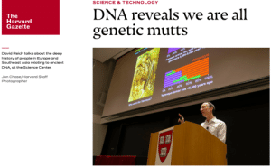 Anaconda, Chase, and Europe: SCIENCE & TECHNOLOGY  The  Harvard  Gazette  DNA reveals we are all  genetic mutts  David Reich talks about the deep  history of people in Europe and  Southeast Asia relating to ancient  DNA, at the Science Center  8.  Jon Chase/Harvard Staff  Photographer  80% 100%  ars ago  60%  40%  0%  20%  mix $5,000 ye  the Yamnaya  Who were Well . . .