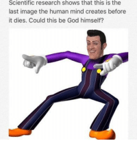 God, Image, and Mind: Scientific research shows that this is the  last image the human mind creates before  it dies. Could this be God himself? <p>Your move, atheists</p>