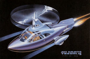 scifiseries:  1943: Future car-copter-jet, stylish and comfortable (Tremulis): scifiseries:  1943: Future car-copter-jet, stylish and comfortable (Tremulis)