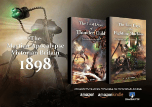 scifiseries:  A War of the Worlds Pastiche science fiction story called,The Last Days of Thunder Child: Victorian Britain in Chaos!    Kindle Edition on Sale!     : scifiseries:  A War of the Worlds Pastiche science fiction story called,The Last Days of Thunder Child: Victorian Britain in Chaos!    Kindle Edition on Sale!