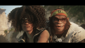 Tumblr, Blog, and Good: scifiseries:  Amazing cyberpunk visuals in the new Beyond Good  Evil 2 trailer