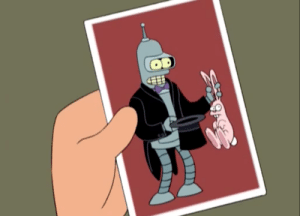 Tumblr, Blog, and Http: scifiseries:  Are we not gonna talk about the picture Leela uses to search for Bender?