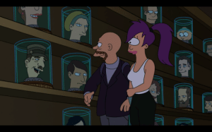Head, Tumblr, and Blog: scifiseries:  First time noticing Cartman in the Head Museum