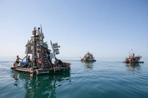 Tumblr, Blog, and Http: scifiseries:  Meet the junk rafts and gutter punks of the Venice Canals