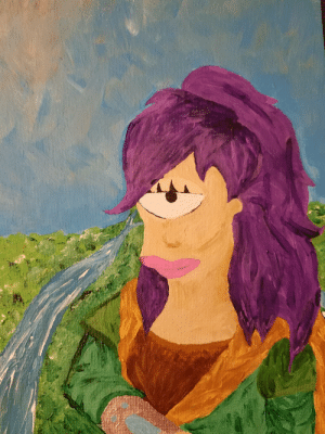 Tumblr, Blog, and Http: scifiseries:  My fiancee drew me the Mona Leela
