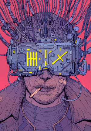 Tumblr, Blog, and Http: scifiseries:  Neuromancer Cover Art by Josan Gonzalez
