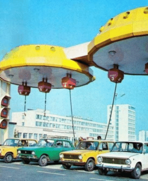 Tumblr, Blog, and Gas Station: scifiseries:  Soviet Union Gas Station