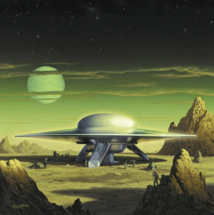 Tumblr, Blog, and Http: scifiseries:  Space Cruiser, 1956