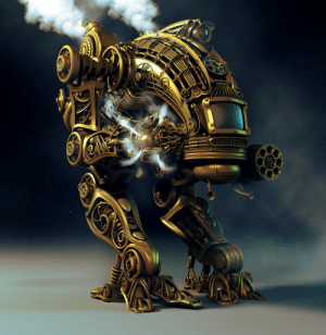 Steam, Tumblr, and Blog: scifiseries:  Steam Robot