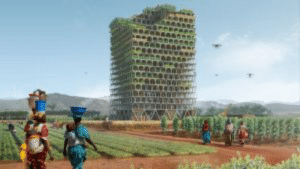 scifiseries:  This groundbreaking skyscraper could feed an entire African town: The Mashambas Skyscraper: scifiseries:  This groundbreaking skyscraper could feed an entire African town: The Mashambas Skyscraper