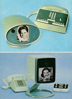 Tumblr, Blog, and Http: scifiseries:  Vintage Video calling concept!