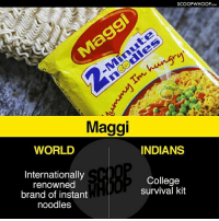 College, Memes, and World: SCOOPWHOOPco  Maggi  WORLD  INDIANS  Internationally  renowned  brand of instant  noodles  College  survival kit Just Indian things! desi scoopwhoophumor instascoop