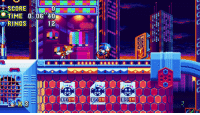 "It's true: Sonic Mania is headed to the Nintendo Switch!: SCORE  TIME 0.08""40  RINGS 12  EG  EBam  EG  CCC  CC  002  [[ETl [[[ [[[  ES  REG  :0 M N  ST It's true: Sonic Mania is headed to the Nintendo Switch!"
