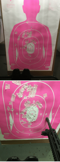 "Dope, Guns, and Lol: Scoring for training and qualification  X. 10,9,8 rings  ying  Al other hits  9  8  9 87  8  -22E-Pink  7   9  8  7 <p><a href=""http://ugottabekidn.tumblr.com/post/172434360779/libertarirynn-hlootoo-libertarirynn"" class=""tumblr_blog"">ugottabekidn</a>:</p>  <blockquote><p><a href=""https://libertarirynn.tumblr.com/post/172433895504/hlootoo-libertarirynn-hexpress"" class=""tumblr_blog"">libertarirynn</a>:</p>  <blockquote><p><a href=""http://hlootoo.tumblr.com/post/172430447653/libertarirynn-hexpress-celticpyro"" class=""tumblr_blog"">hlootoo</a>:</p>  <blockquote><p><a href=""https://libertarirynn.tumblr.com/post/172427241699/hexpress-celticpyro-libertarirynn-visited"" class=""tumblr_blog"">libertarirynn</a>:</p>  <blockquote><p><a href=""https://hexpress.tumblr.com/post/172426702897/celticpyro-libertarirynn-visited-the-range"" class=""tumblr_blog"">hexpress</a>:</p>  <blockquote><p><a href=""http://celticpyro.tumblr.com/post/172425939914/libertarirynn-visited-the-range-today"" class=""tumblr_blog"">celticpyro</a>:</p>  <blockquote><p><a href=""https://libertarirynn.tumblr.com/post/172425816239/visited-the-range-today"" class=""tumblr_blog"">libertarirynn</a>:</p><blockquote><p>Visited the range today.</p></blockquote> <p>Practicing for when you gotta kill Pink Guy. </p></blockquote>  <p>nice groupings!</p></blockquote>  <p>Thanks! I think it's pretty good for my first time shooting a modern gun 😄</p></blockquote>  <p>""Modern gun"" lol, were you using a musket or something? (But seriously it'd be cool if you did).</p></blockquote>  <p>Very nearly yes! Lol my previous only exposure to a firearm was firing a Civil War era replica in history class.</p></blockquote>  <p>I wanna take THAT history class!</p></blockquote>  <p>The professor was seriously freaking awesome. I wasn't even enrolled in the class, my friend was and sometimes I would sit in. The professor took a liking to me and invited me to come along and shoot at pig heads with civil war guns. We also ate hardtack and salted bacon like the soldiers of the era would have. It was dope.</p>"