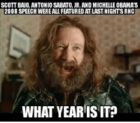 After hearing that Charles in Charge appeared at the RNC: SCOTT BAIO ANTONIO SABATO JR. AND MICHELLE OBAMAS  2008 SPEECH WEREALLFEATUREDATLAST NIGHTS RNC  WHAT YEARIS ITP After hearing that Charles in Charge appeared at the RNC