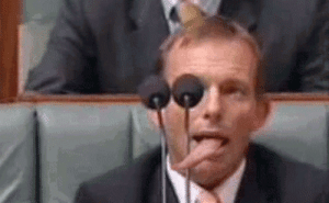 scottylubemeup:  TONY ABBOT caught attempting to signal REPTILIAN OVERLORDS on LIVE TV : scottylubemeup:  TONY ABBOT caught attempting to signal REPTILIAN OVERLORDS on LIVE TV