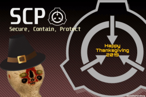 Keep an eye on those peanuts...: SCP  Secure, Contain, Protect  Наppy  Thanksgiving  2019  @jonathanlundberg Keep an eye on those peanuts...