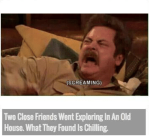 Friends, House, and Old: (SCREAMING)  Two Close Friends Went Exploring In An Old  House.What They Found Is Chilling https://t.co/4UyRLtWtcl