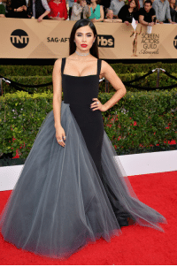 Af, Target, and Tumblr: SCREEN  ACTORS  GUILD  Award  SAG AF  bbs celebsofcolor:  Diane Guerrero attends The 23rd Annual Screen Actors Guild Awards at The Shrine Auditorium on January 29, 2017 in Los Angeles, California.  Looking good, Diane!