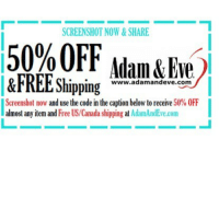 Get 50% OFF almost any item & FREE U.S.-CAN Shipping. Use offer code SASS at AdamandEve's Website. 18+ Only 💅🏽❤️🔥🔥: SCREENSHOT NOW & SHARE  50%OFF Adam Eve  &FREE Shipping  www.adamandeve com  Screenshot now and use the code in the caption below to receive 50% 0FF  almost any item and  Free US Canada shipping at  AdamAndEve.com Get 50% OFF almost any item & FREE U.S.-CAN Shipping. Use offer code SASS at AdamandEve's Website. 18+ Only 💅🏽❤️🔥🔥
