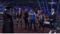 Wrestling, World Wrestling Entertainment, and Dean Ambrose: SD  SPORTS 5HD  LIVE A phenom, legend, sheer physical presence and future Hall of Famer representing what makes Smackdown truly the greatest brand in WWE...  Pictured here in between Dean Ambrose and AJ Styles