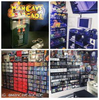 These collections are crazy, not gonna lie 😍 @mancave.arcade posts aesthetic gaming pictures and crazy video game collections! Check out his profile for some cool pictures 🤘🏼😎 @mancave.arcade @mancave.arcade @mancave.arcade: SDE  GENESIS  GENESIS  IG, OMANCAVE ARCADE These collections are crazy, not gonna lie 😍 @mancave.arcade posts aesthetic gaming pictures and crazy video game collections! Check out his profile for some cool pictures 🤘🏼😎 @mancave.arcade @mancave.arcade @mancave.arcade