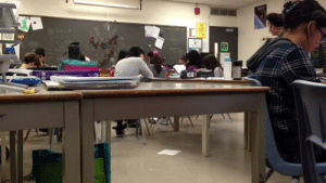 "80s, Fucking, and School: sdseraph:  fireheartedkaratepup:  the-80s-do-it-better:  attackonsociallife:  quibbs:  tyleroakley:  outlawsoflove:   My class pretended to play dead.    Just as the Mayans predicted, the apocalypse came with the signal of a cough.   these middle schoolers read better than my high school honors english class  I REALLY HAVE TO REBLOG THIS IM SORRY THE FUCKING TEACHER  ""Stop being dead right now""   That's the reaction of an adult who delights in what you just did, but is in the position of Enforcing The Rules, so they have to tell you to stop anyway   Every time I see that glee face he gets its like ""fine I guess I'll reblog"""