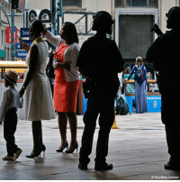 """England, Memes, and Madison Square Garden: Se  Fashio  AP Photo/Bebeto Matthews The NYPD says it has tightened security at high-profile locations """"out of an abundance of caution"""" following the deadly explosion in Manchester, England. These photos show anti-terror unit guards at Madison Square Garden on Tuesday."""