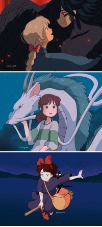 Tumblr, Thank You, and Blog: se venpoM   sevenpo M   sevenpoH seven-pom:  some ghibli screenshot redraws!   ※(please do not repost my works onto other sites, even with credit. you may use them as icons if you credit me in the description box. thank you!)※