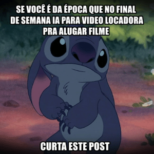 Video, Pt-Br (Brazilian Portuguese), and International: SE VOCÉ É DA ÉPOCA QUE NO FINAL  DE SEMANA IA PARA VIDEO LOCADORA  PRA ALUGAR FILME  CURTA ESTE POST