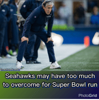 """Seahawk newz  Seahawks may have too much  to overcome for Super Bowl run  PhotoGrid Following the Seattle Seahawks' 34-31 loss to the Arizona Cardinals, coach Pete Carroll was asked about his team's inability to show any kind of consistency in recent weeks. """"I don't know,"""" Carroll said. """"I keep thinking we're going to do right, we're going to do well."""" Three things need to happen for them to get a bye: They need to beat the San Francisco 49ers in Week 17. The Atlanta Falcons have to lose to the New Orleans Saints. And the Detroit Lions have to lose one of their final two games against the Dallas Cowboys or Green Bay Packers. GoHawks LeaveNoDoubt"""