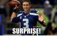 Memes, Sports, and 🤖: SEAHAWK  Sports Humor  SURPRISE!