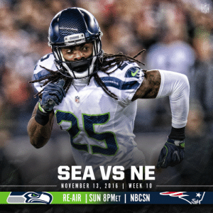 .@Seahawks vs. @Patriots.  The first matchup since Super Bowl XLIX.  Watch this SNF classic TONIGHT at 8pm ET on @NBCSN. https://t.co/YEU3rW0dn9: .@Seahawks vs. @Patriots.  The first matchup since Super Bowl XLIX.  Watch this SNF classic TONIGHT at 8pm ET on @NBCSN. https://t.co/YEU3rW0dn9