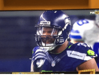 Michael Bennett's shoulder pads are about as small as the Lions playoff chances: SEAHAWKS  XINF Michael Bennett's shoulder pads are about as small as the Lions playoff chances